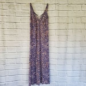 Cabi long cotton maxi dress